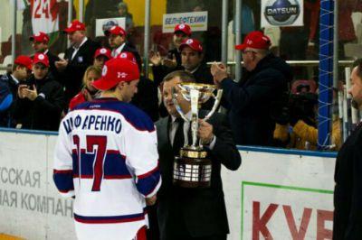 Олег Шафаренко, фото ХК «Юность» Минск